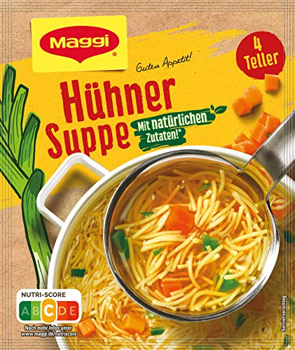 Maggi Guten Appetit, Hühner Suppe, ergibt 4 Teller, 1er Pack (1 x 60g)