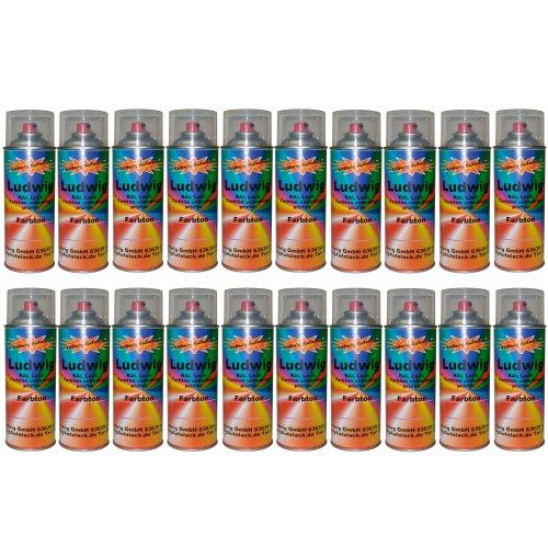 20 Spraydosen 400ml Autolack glänzend RAL 6029 Minzgrün