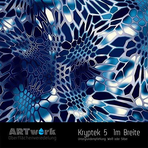 Wassertransferdruck Folie ARTwork Kryptek 5 1m Breite