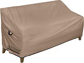 """ULT Cover 100% Waterproof Outdoor Sofa Cover Durable Patio Loveseat/Bench Covers 70""""(L)x30""""(W)x35""""/24""""(H)"""