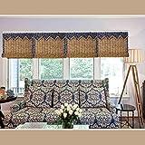 Bamboo blinds Persianas enrollables, Cortinas de caña Natural, persianas de bambú, ventilación,...