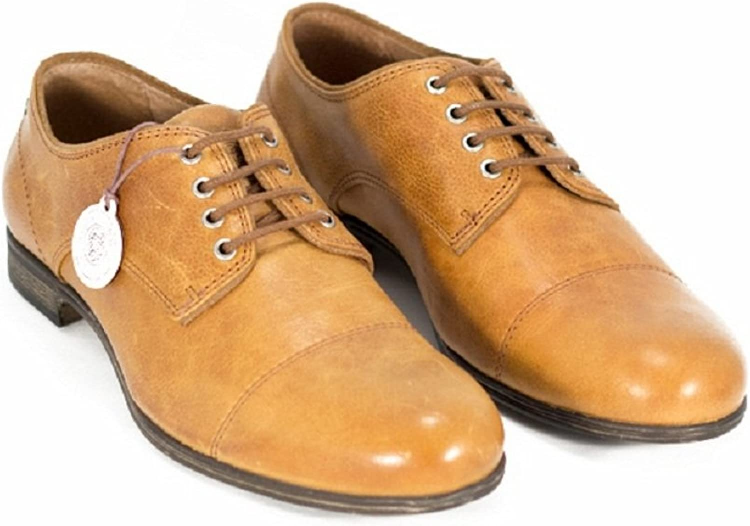Sneaky Steve Ice Leather shoes Men's Lace-up Brown