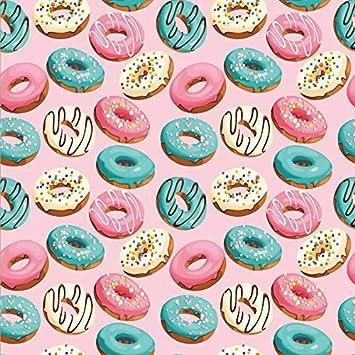 Leowefowa Cartoon Bakery Shop Storefront Backdrop 6x6ft Vinyl Showcase Toast Donuts Cream Cakes Illustration Photography Background Child Kids Baby Birthday Baby Shower Party Decor Studio Props