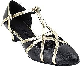 Women's Ballroom Dance Shoes Salsa Latin Practice Shoes Sera3541EB Comfortable-Very Fine 1.2