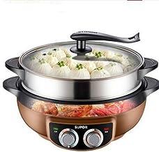 NXYJD 6L Multifonction en Acier Inoxydable électrique Pot Barbecue électrique Machine à Chaud Pot santé Pas Fumées antiadh...