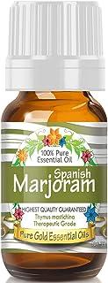 Pure Gold Spanish Marjoram Essential Oil, 100% Natural & Undiluted, 10ml