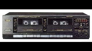 TEAC W-450R Dual Cassette Deck Player Recorder HX-Pro, Vintage