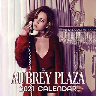 Aubrey Plaza 2021 Calendar: 12 Months 2021 calendar for Aubrey Plaza