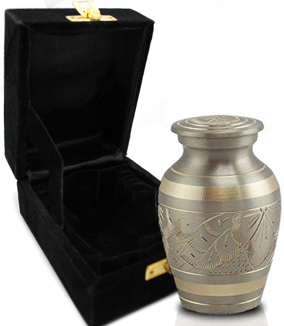 Majestic Radiance 100% Brass Now free shipping Cremation Ashes for Spring new work Human Large Urn
