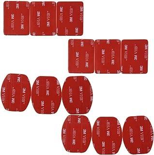 Sitrda 12 st 3M klistermärke tejp självhäftande dynor set för Gopro Hero 3/2/1