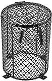 Bombilla de cerámica antiquemaduras, con cubierta de malla, redonda, cuadrada, día y noche, para mascotas, con forma de cilindro., Cylinder Shape