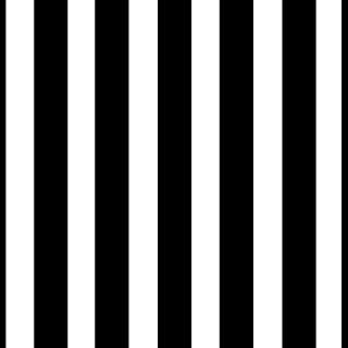 Modern Classic Black & White Striped Wallpaper (Unpasted) roll, 20.8 inch x 32.8 Feet, 1 Roll Pack