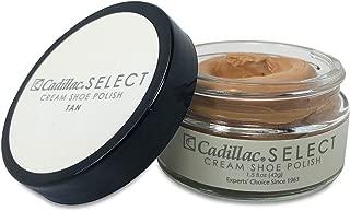 Select Premium Cream Shoe Polish - Made in the USA - Colors: Black, Neutral, Cognac, Tan, Navy Blue, Dark Brown