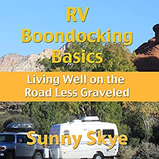 RV Boondocking Basics audiobook cover art