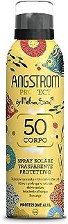 Angstrom Protect Spray Solare Trasparente, Protezione Solare Corpo 50, Spray Solare Limited Edition, Attiva e Prolunga l'A...