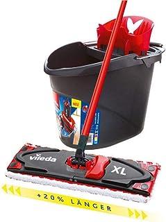 Vileda 161035 UltraMat XL Kit Complet, Rouge/Noir, Set