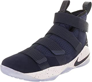Men's Zoom Lebron Soldier Xi Basketball Shoes (10, Navy/Red-M)