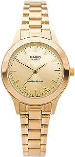 كاسيو ساعة رسمية نساء انالوج بعقارب ستانلس ستيل - LTP-1128N-9ARDF