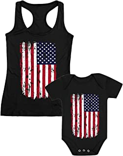 matching 4th of july outfits for mother and daughter
