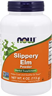NOW Supplements, Slippery Elm Powder, 4-Ounce