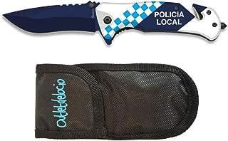 Outletdelocio. Navaja Tactica 3D Policia Local. Sistema de