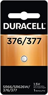Duracell Silver Oxide Battery Watch/Electronic 1.5 Volt 377 1 Each (Pack of 12)