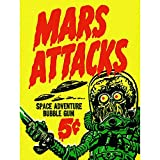 Wee Blue Coo Advert Mars Attacks Bubble Gum Alien Monster