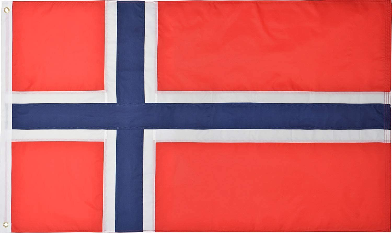 Green Grove Cheap SALE Start Products Norway Under blast sales Flag 3' x Ft Premium 5' 210D Nylon O