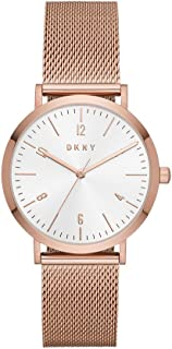 DKNY Women's NY2743 Analog Quartz Rose Gold Watch