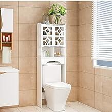 N/Z Home Equipment Bathroom Shelves Space Saver Bathroom Cabinet Organizer Bathroom Storage Cabinet with Two Door (Color :...