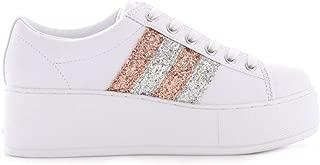 Guess Luxury Fashion Womens FL7NEOELE12WHITE White Sneakers | Fall Winter 19