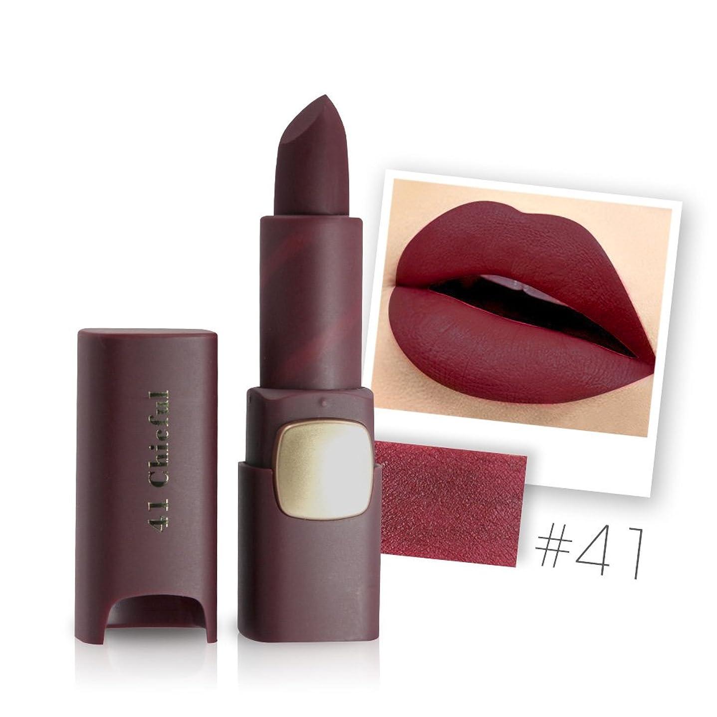 楽観的リフト労働Miss Rose Brand Matte Lipstick Waterproof Lips Moisturizing Easy To Wear Makeup Lip Sticks Gloss Lipsticks Cosmetic