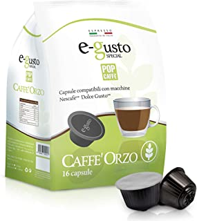 48capsules orge Pop Caffe 'compatibles Nescafe' Dolce Gusto