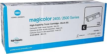 KONICA MINOLTA MAGICOLOR 2400W Black Original Toner (4,500 Yield)