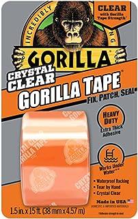 Gorilla(ゴリラ) 超強力補修テープ (38mm x 4.6m, 透明) [並行輸入品]