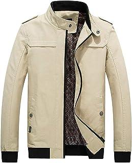 Cappotto Invernale da Uomo Slim Fit Soprabito da Lavoro Slim Giovane Abiti da Festa Lungo Giacca a Vento Giacche Tasca con...