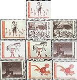 Prophila Collection Suecia 657Dl,Dr.....,658Dl,Dr.....,659Dl, Dr.....,660Dl,Dr.....,661Dl,Dr..... (Completa. edición.) 1969 Cuento de Hadas literarios (Sellos para los coleccionistas)