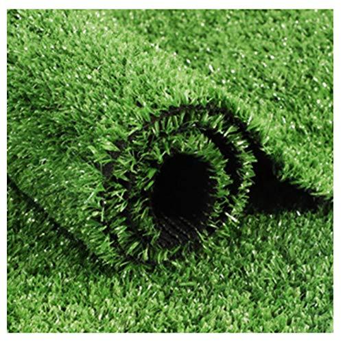 Simulation Spring Grass Lawn 20mm Kindergarten Artificial Turf Plastic Green Plants Outdoor Runway Green Artificial Carpet (Size : 2mx16m)