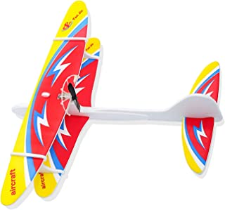 HONGKIT Outside Toys for Kids Ages 4-8,Two Wings Foam Airplanes for 6 Year Old Girl Gifts Flying Toys for 6 Year Old Girls...