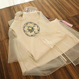 Vintage Ladies Cheongsam Embroidery Flower Evening Dress Classic Ladies Dancing Cheongsam Xxl
