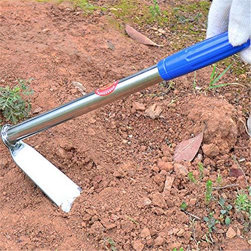 El-ife Garden Digging Grubbing Hoe Weeding Portable Mini Hoe