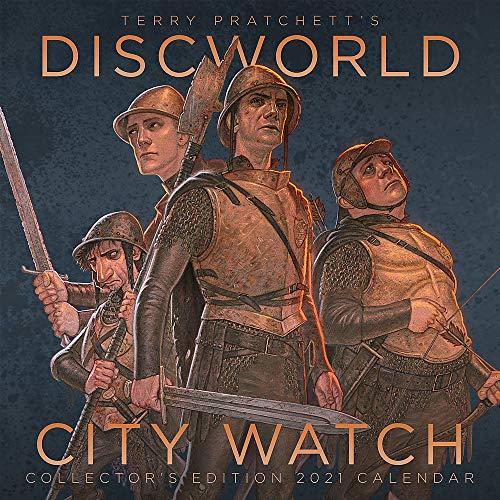 Terry Pratchett's Discworld City Watch Collector's Edition 2021 Calendar