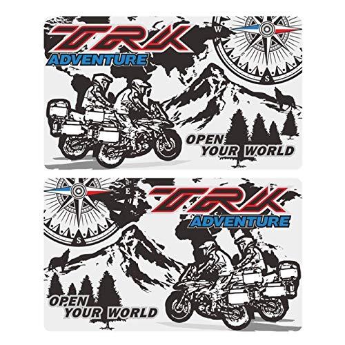 WHJIXC para Benelli TRK502 502 TRK X TRK521 TRK ADV, Pegatinas, calcomanía, Caja de Aluminio, alforjas, Equipaje, alforja, Caja Trasera Lateral, Motocicleta
