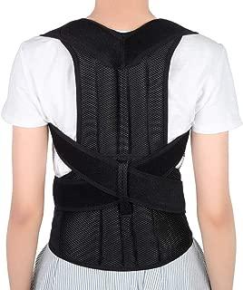 Yosoo Health Gear Back Brace Posture Corrector Adjustable Back Shoulder Lumbar Waist Support Belt for Men and Women, Improve Posture, Prevent Slouching, Pain Relief (S 26-31)