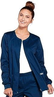 Cherokee Women's Workwear Core Stretch Warm Up Scrubs Jacket