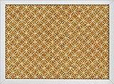 WallPops Tambour - Tablero de corcho impreso