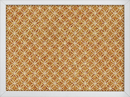 Wall Pops Tambour Printed Cork Board