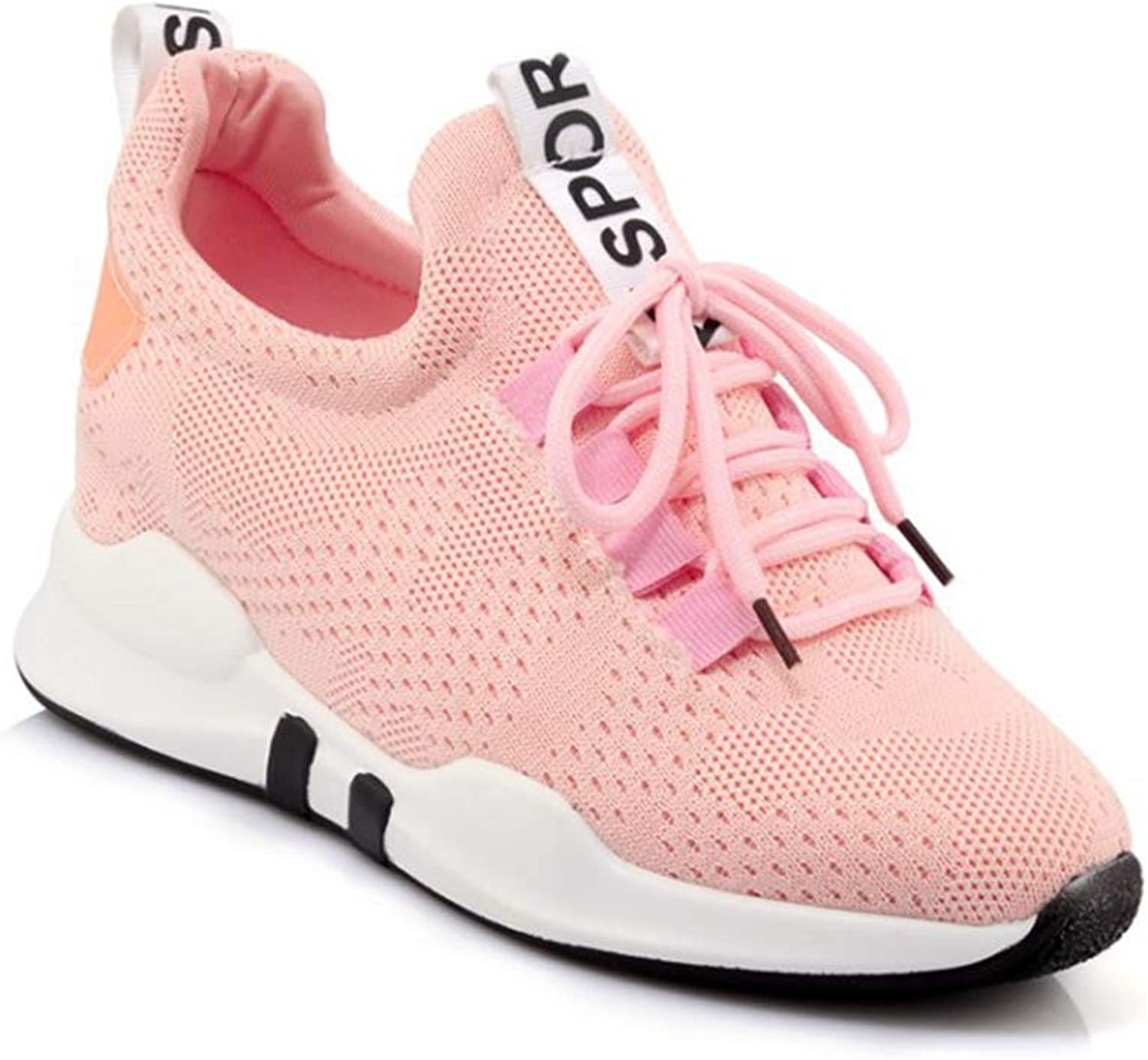 GIY Women Running Sneakers Comfort Slip On Wedges shoes Breathable Athletic Casual Mesh Walking shoes