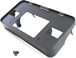 Red Hound Auto Front License Plate Bumper Mounting Bracket Compatible with Ford (Expedition, F-150, F-250) 1997-1998 Frame Holder Includes Screws (Works with 4x4 Models Only)