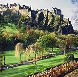 3dRose db 54126 2 Castle in Edinburgh Scotland Memory Book, 12 by 12-Inch